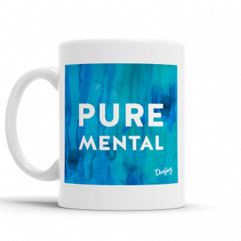 Doofery - Pure Mental  - Mug - Blue